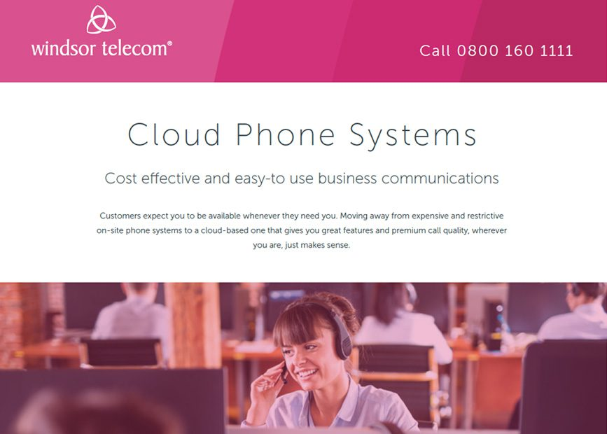 Cloud phone systems product sheet