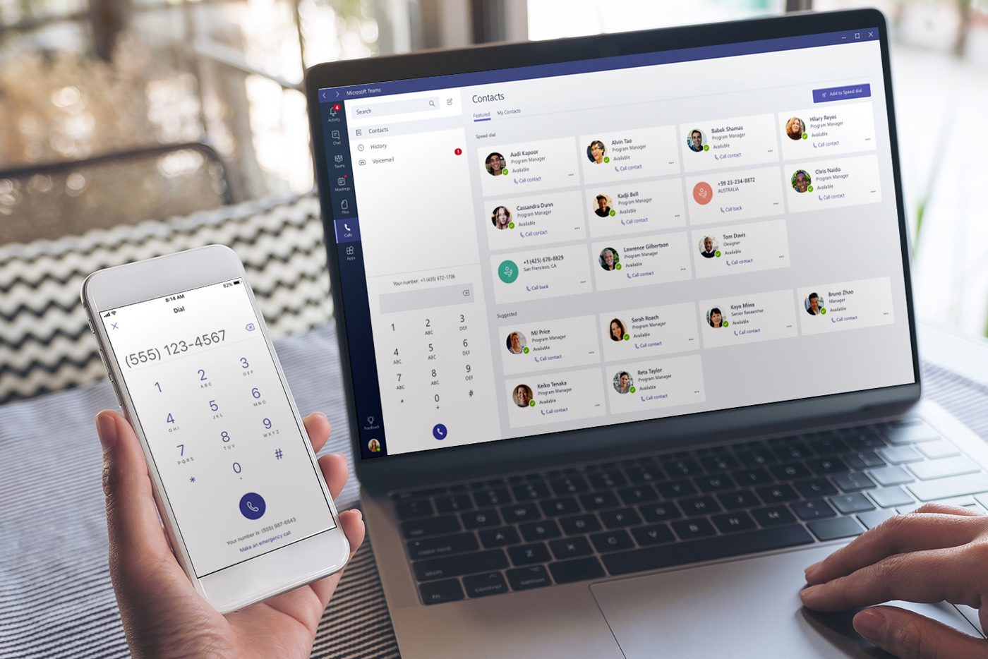 Microsoft Teams Calling on multiple devices
