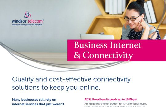 Business Internet product sheet