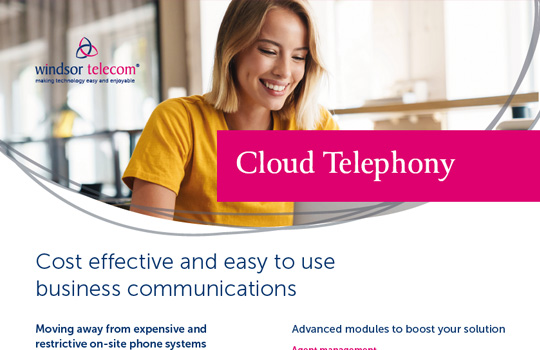 Cloud telephony product sheet