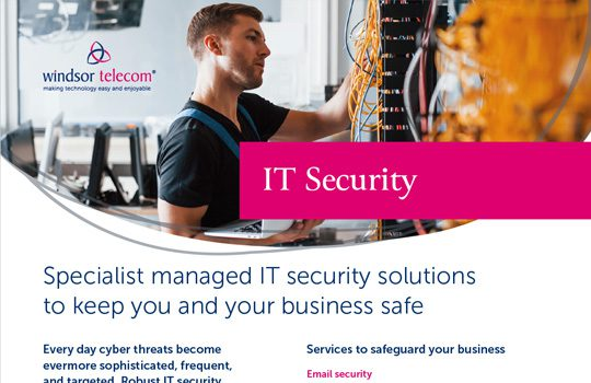 IT Security product sheet