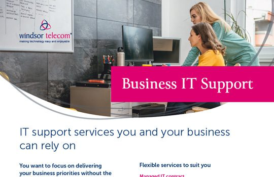 IT Support product sheet