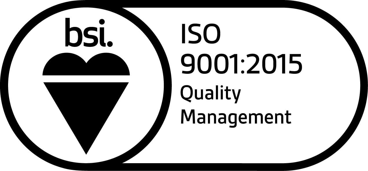 Quality assurance mark from BSI