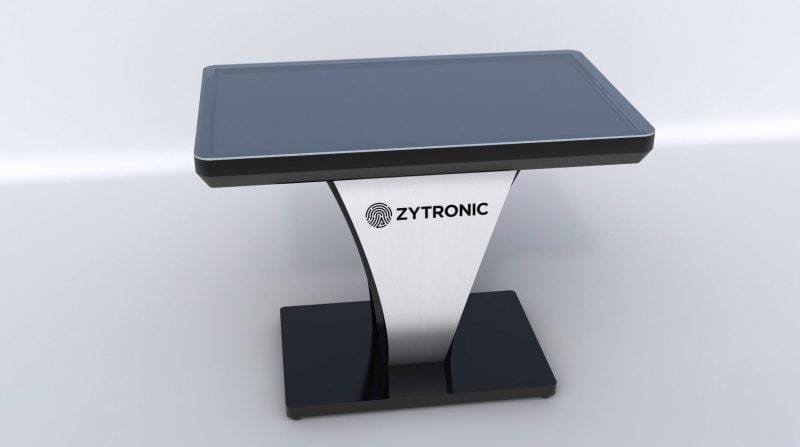 Zytronic interactive touchscreen panel