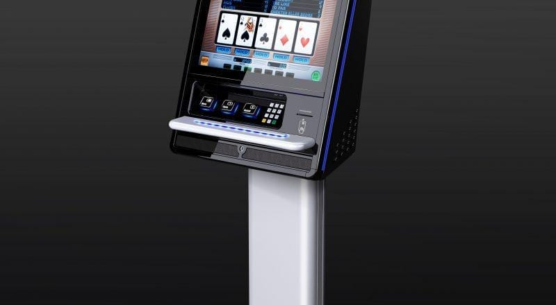 A zytronic technology Ace indago gaming kiosk