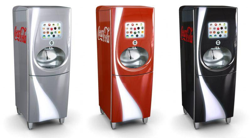 3 Zytronic touch screen Coca-cola machines