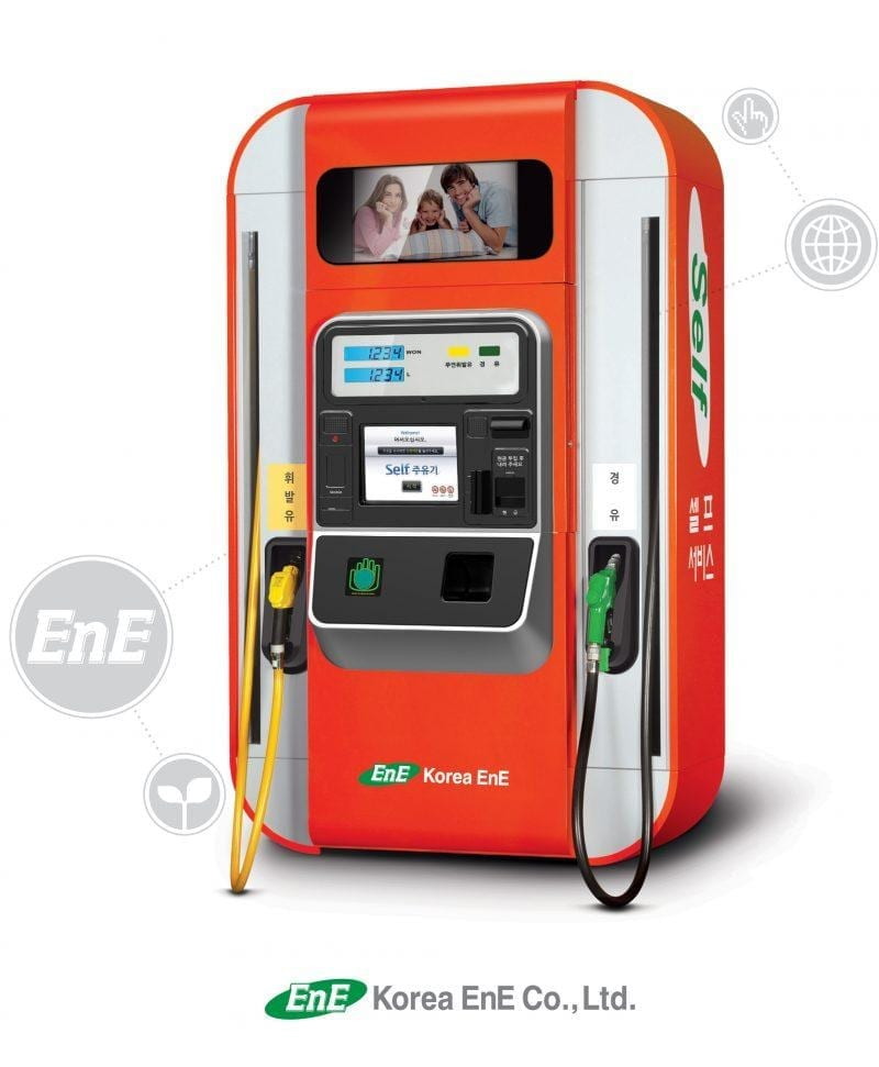 Zytronic touch screen in Korea EnE self petrol filling system