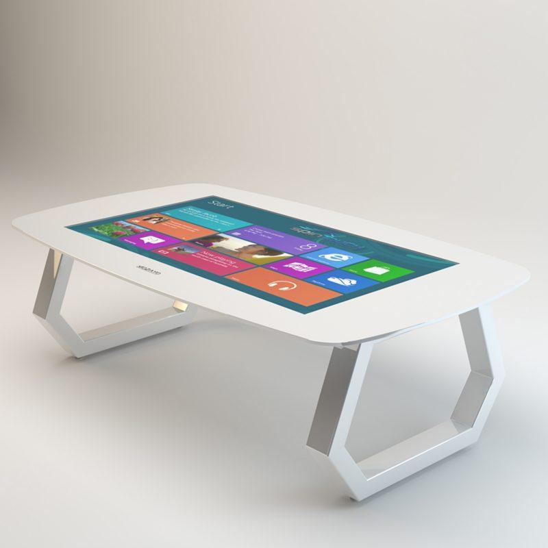 Zytronic latest capacitive technology on a SpinTouch interactive table