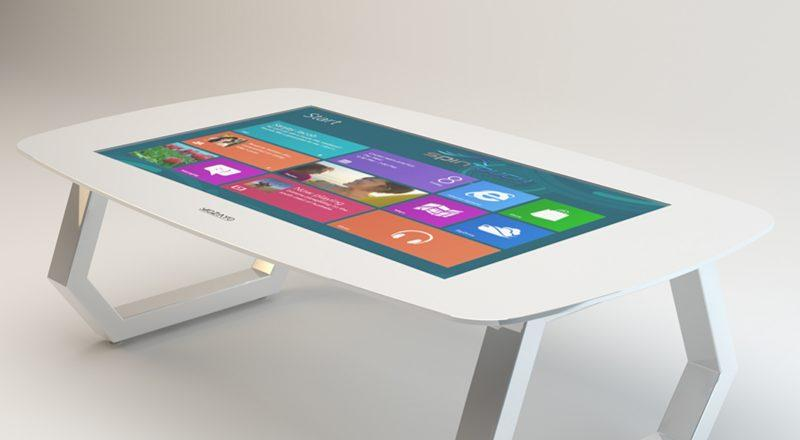 SpinTouch interactive table with integrated Zytronics touchscreen technology