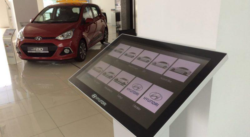 Zytronic touch screen panels featured in Hyundai dealership