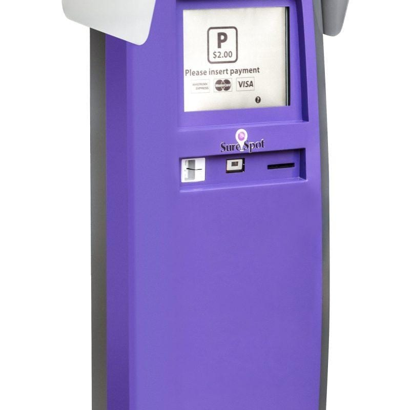 Zytronic PCT touch sensors featured in SureSpot payment entrance terminal