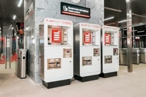 Moscow Metro and Bus ticket machines using Zytronic touch sensors
