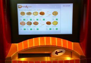 PizzaDoor touch screen kiosk for pizza orders using Zytronic touch sensors