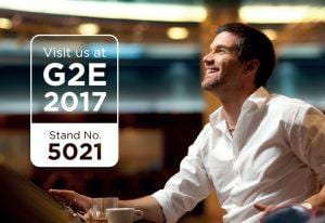 G2E 2017 event featuring Zytronic touch technology