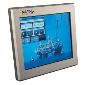 Zytronic Zytouch sensors used for touch screen in industrial setting