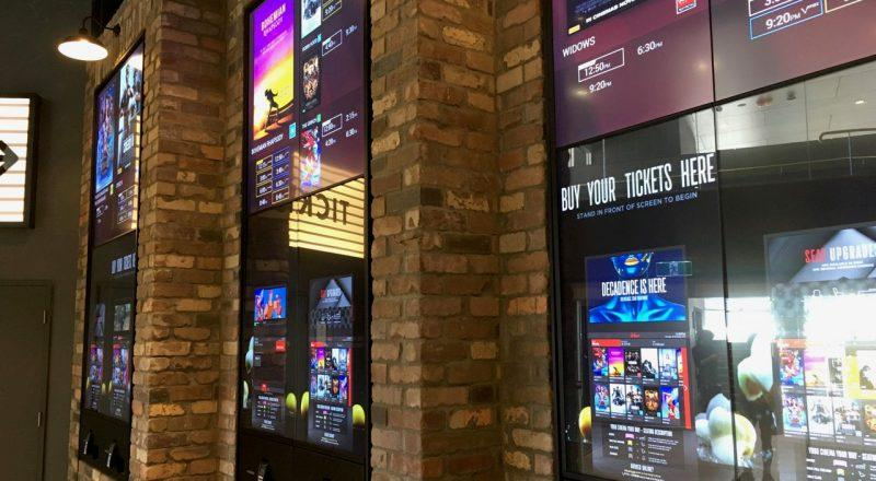 A cinema ticket printing system featuring Zytronic touch technology