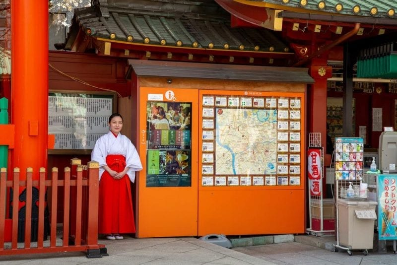 Touch technology featured in Shinto Shrines in Japan